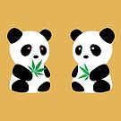Two Pandas by Localist