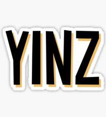 Yinz Sticker