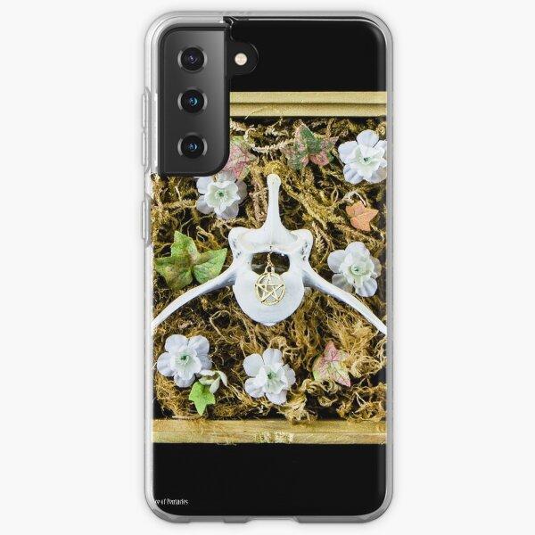 Tarot of Bones - Ace of Pentacles Samsung Galaxy Soft Case