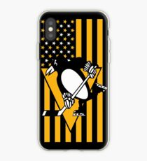 Pittsburgh Penguins American Flag iPhone Case