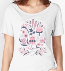 A Place to Flourish (Rose) Women's Relaxed Fit T-Shirt