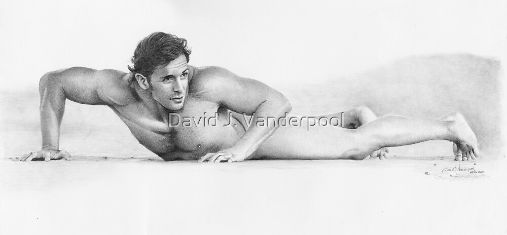 Untitled male study by David J. Vanderpool