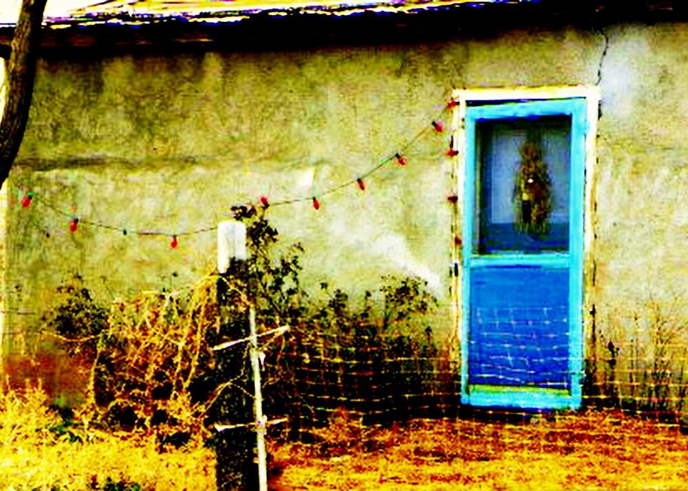 Blue Door by Marie Monroe