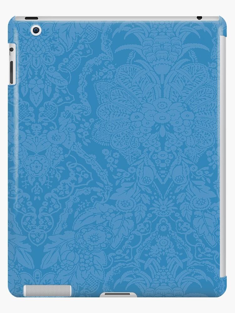 Verzaubertes italienisches blaues Muster von fibularasa