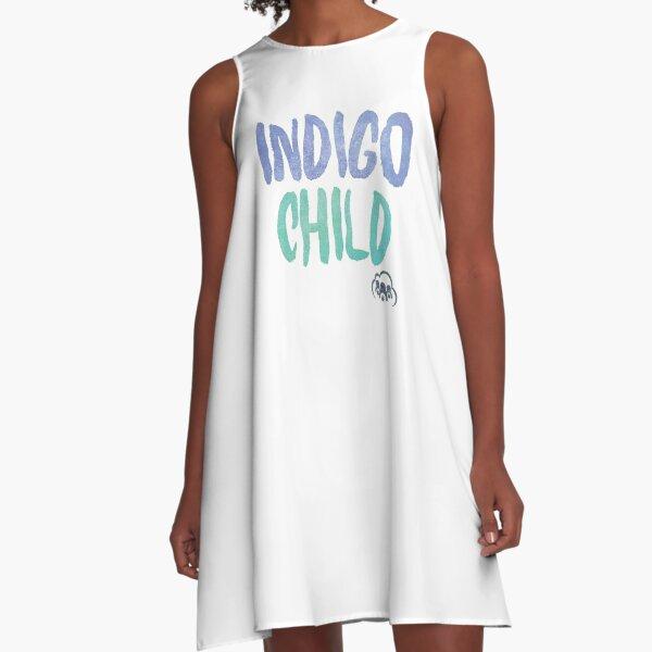 Indigo Child A-Line Dress