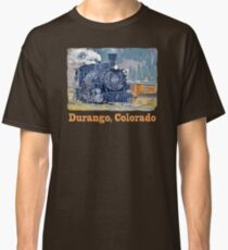 Durango Colorado, Durango Silverton Steam Train Railway Classic T-Shirt