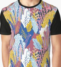 When Nature Talks - Leafy Meadow  Graphic T-Shirt