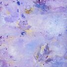Lavender Clouds with Leaves by Laurie Miller