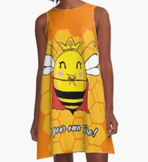Be Your Own Hero A-Line Dress