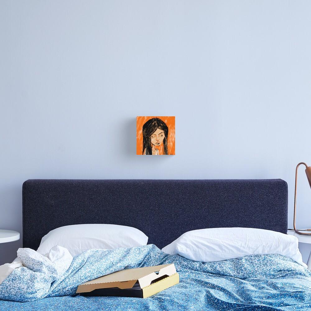 Orange Girl Canvas Print
