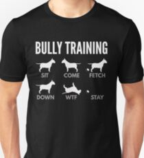 English Bull Terrier Bully Training Slim Fit T-Shirt