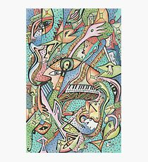 Flying Fishes, Guitars & Piano Photographic Print
