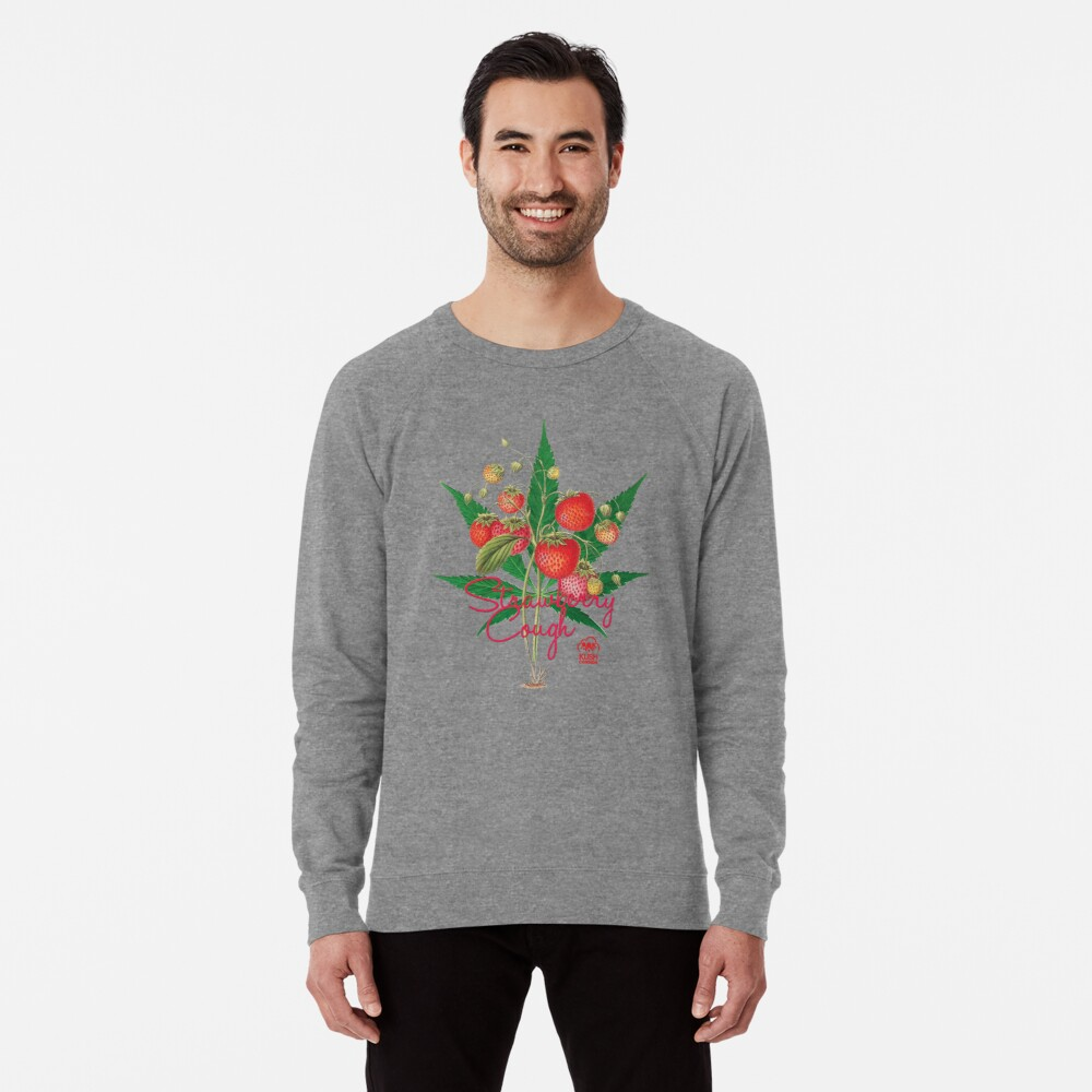 Strawberry Cough Lightweight Sweatshirt