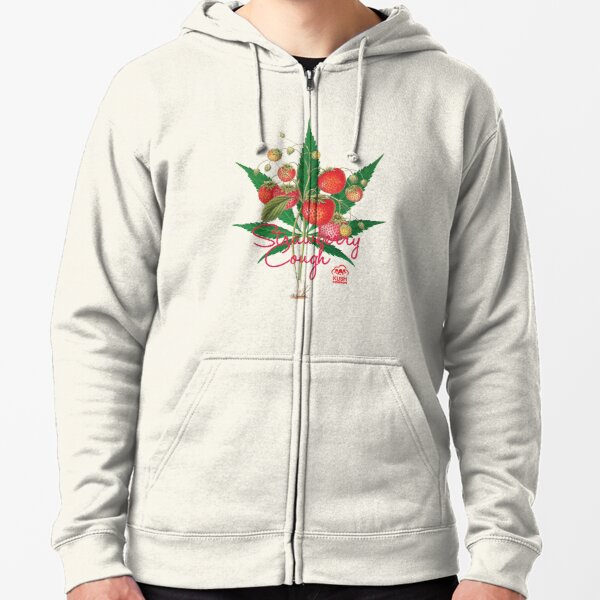 Strawberry Cough Zipped Hoodie