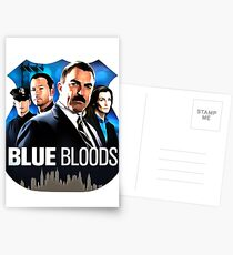 Blue Bloods Postcards