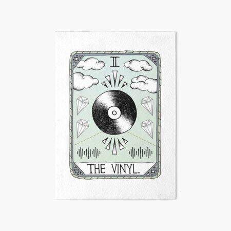 The Vinyl Art Board Print