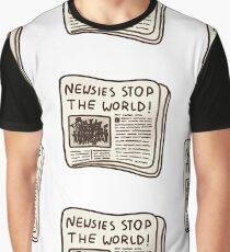 newsies stop the world! Graphic T-Shirt