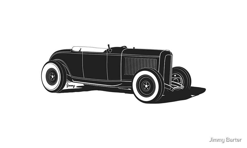 '32 roadster in lakes trim by Jimmy Barter