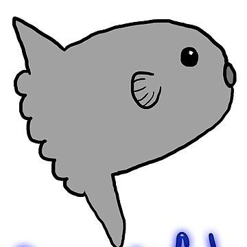 Badly drawn ocean sunfish by MilleniumIbis