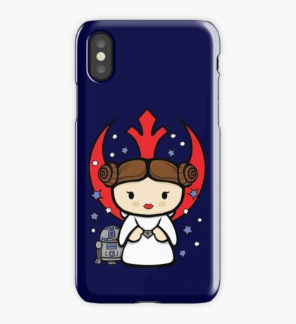Rebel Princess iPhone Case