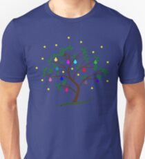 Christmas Tree Baubles Unisex T-Shirt