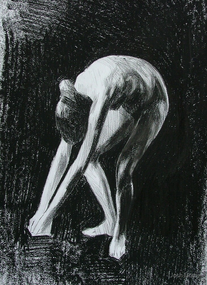Genuflect Figure by Josh Bowe