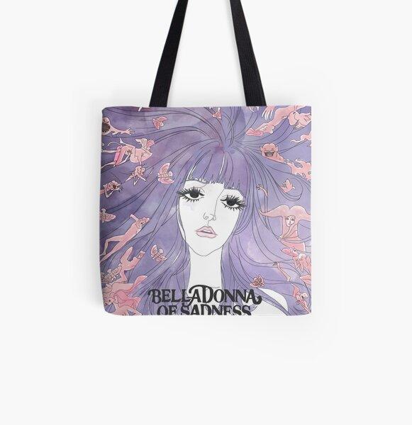 belladonna sad girl All Over Print Tote Bag