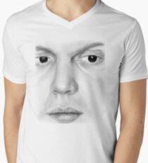Evan Peters Men's V-Neck T-Shirt