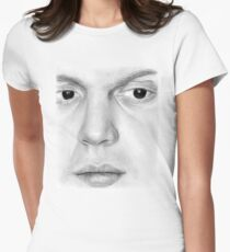 Evan Peters Women's Fitted T-Shirt