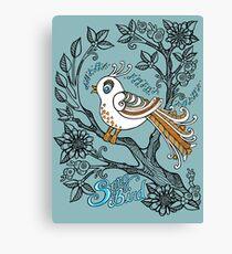 Song Bird Canvas Print