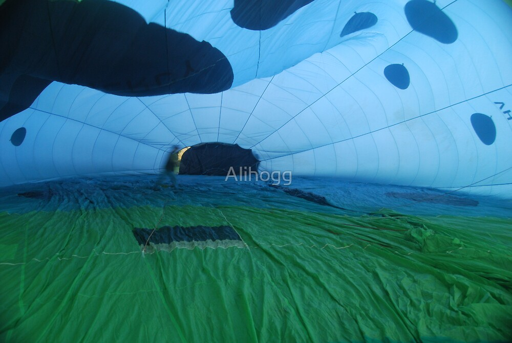 Inside Balloon by Alihogg