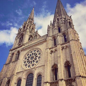 Cathédrale Notre-Dame de Chartres by zuluspice