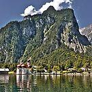 St. Bartholomew's Church - Königssee Lake - Germany by paolo1955