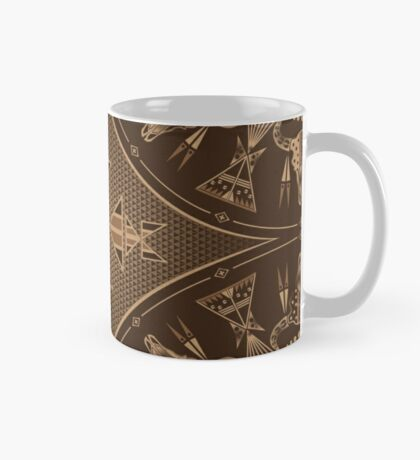 Buffalo Gathering Brown Mug