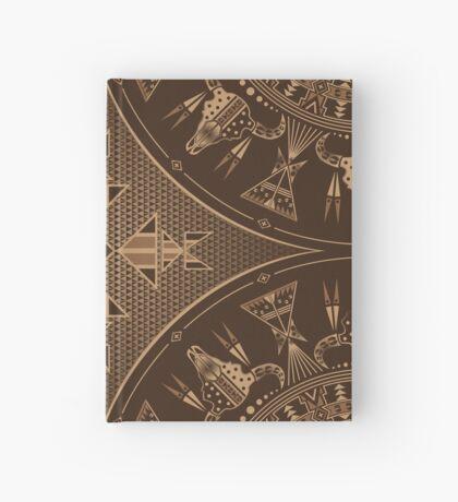 Buffalo Gathering Brown Hardcover Journal