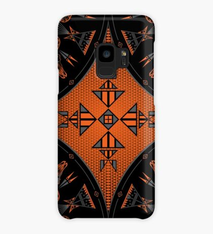 Buffalo Gathering Orange Case/Skin for Samsung Galaxy