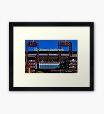 Ball Park Framed Print