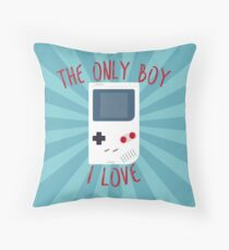 The only boy I LOVE! Throw Pillow