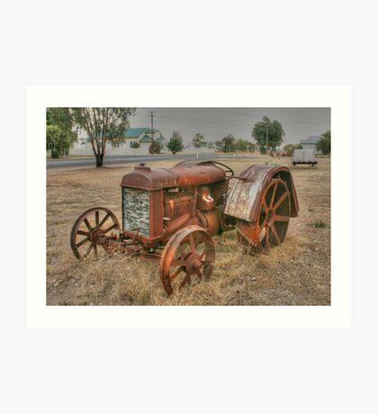 Attractive Tractor Art Print