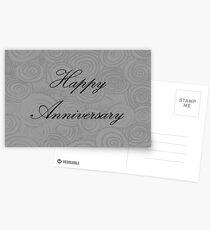 Anniversary Swirls Postcards