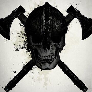 Viking Skull by Nicklas81