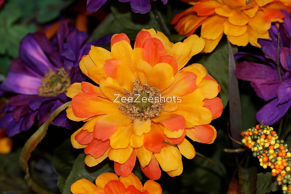 Fall Flowers by ZeeZeeshots