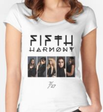 Fifth Harmony - Portrait Group VMAs Women's Fitted Scoop T-Shirt