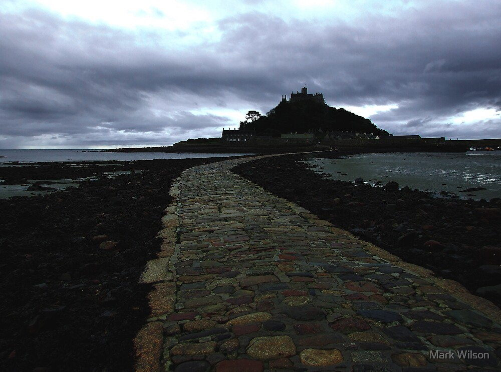 The Mount and Causeway by Mark Wilson