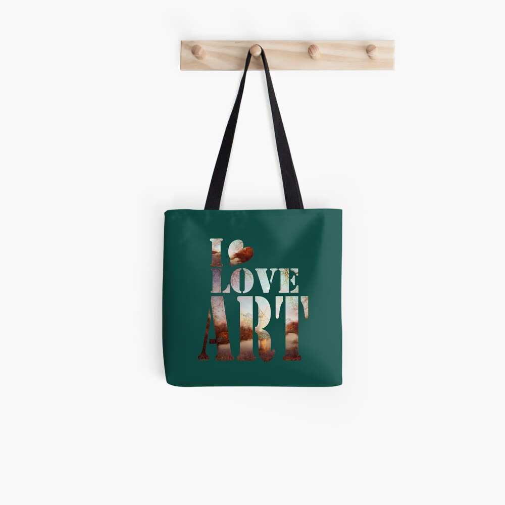 heART of the river Tote Bag