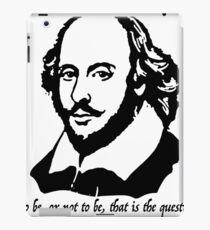 William Shakespeare quote  iPad Case/Skin