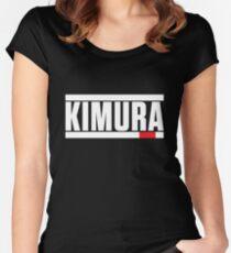 Kimura Brazilian Jiu-Jitsu (BJJ) Women's Fitted Scoop T-Shirt