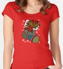 Birdnest Stocking Women's Fitted Scoop T-Shirt