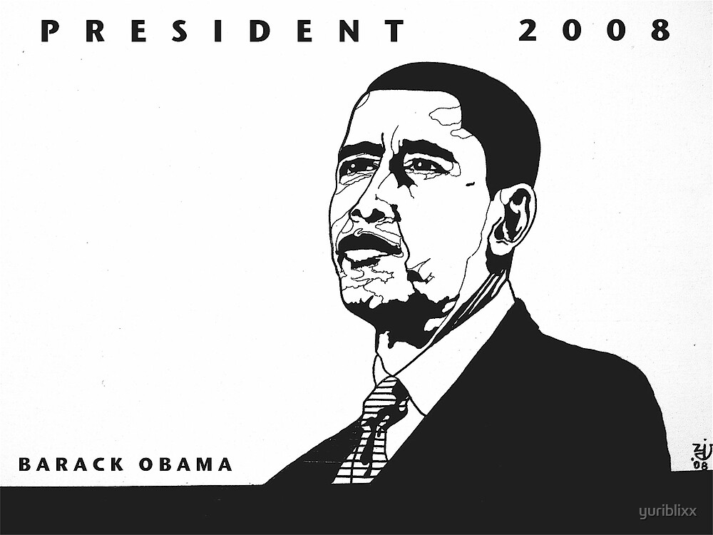 president BARACK OBAMA by yuriblixx