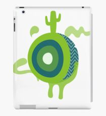 Cacti-candy planet iPad Case/Skin
